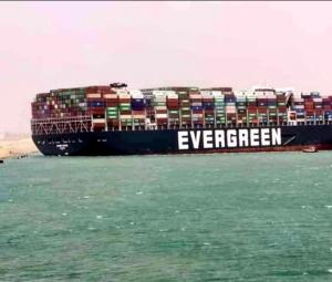 Navio Ever Given está proibido de deixar o Canal de Suez até que pague US$ 1 bilhão